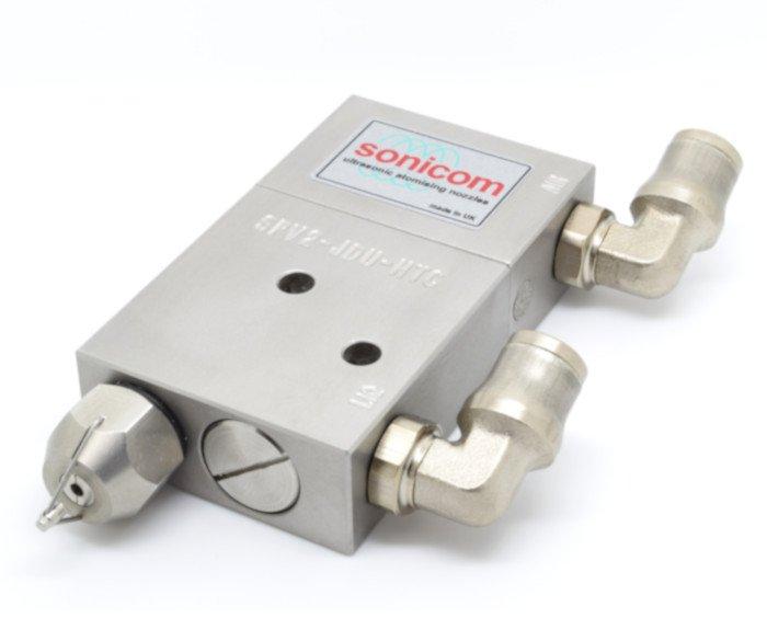 Sonicom Ultrasonic Dry Fog Nozzle Assembly